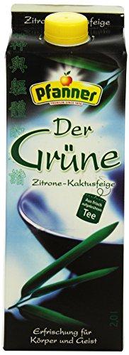 Pfanner Grüner Tee Zitrone-Kaktusfeige, 2 l