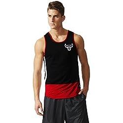 Adidas SMR RN NR Tank - Camiseta para hombre, color Rosa (Nbacbu), talla L