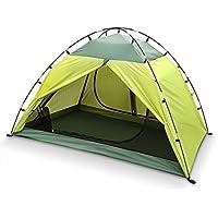 intey camping tienda de cúpula para 2personas, incluye tienda Interior como Mosquitera, resistente al agua tienda con 3000mm de columna de agua para Outdoor Excursiones y camping, color verde