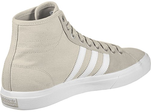 adidas Matchcourt High RX, Scarpe da Skateboard Uomo Marrone (Clear Brown/footwear White/clear Brown)