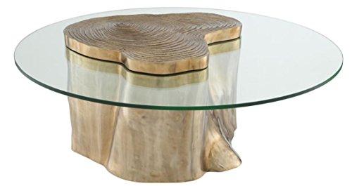 Casa Padrino Luxus Wohnzimmer Couchtisch 120 x H. 46 cm - Luxus Kollektion