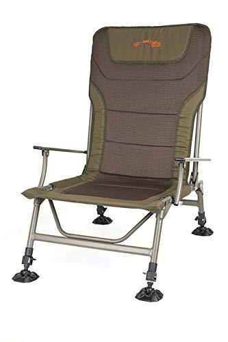Fox Duralite XL chair - Karpfenstuhl zum Ansitzangeln, Stuhl für Angler, Angelstuhl, Anglerstuhl, Campingstuhl zum Karpfenangeln