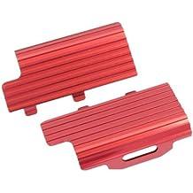 Aluminum battery heat sink (Red) (japan import)