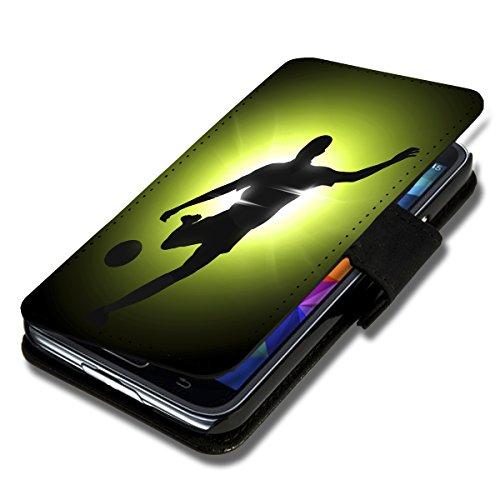 Book Style Flip Handy Tasche Case Schutz Hülle Foto Schale Motiv Etui für Apple iPhone 5C - A51 Design8 Design 1