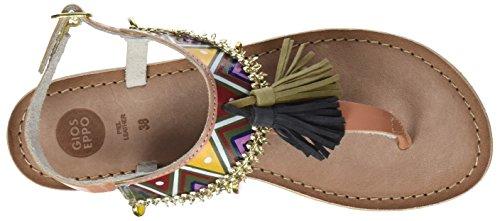 Gioseppo Taplai, Sandali Donna Multicolore (Brown)