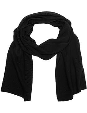 Calvin Klein Damen Schal Emma 3 Scarf, Schwarz (Black 001), One size