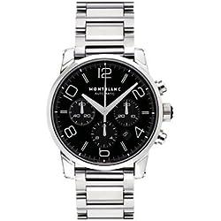Montblanc Timewalker 9668 43mm Automatic Silver Steel Bracelet & Case Anti-Reflective Sapphire Men's Watch
