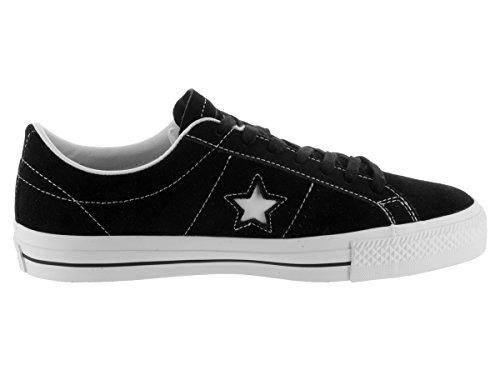 Converse Sneakers One Star C153064, Scarpe da Ginnastica Basse Unisex – Adulto Nero bianco