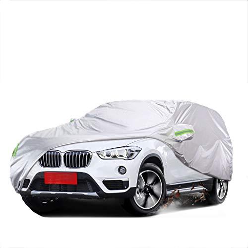 Copriauto compatibile con Peugeot 5008 SUV Coprisedili for auto Protezione antigelo antigelo Protezione for copertura Ombrellone universale for quattro stagioni antipioggia ( Color : Silver )