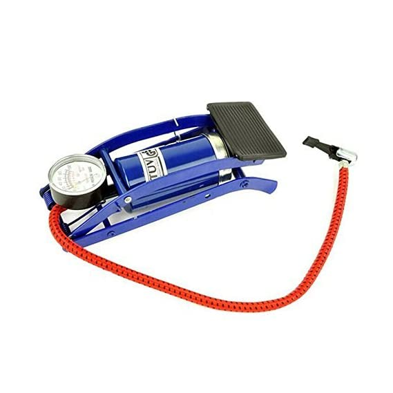 Occasions Air Foot Pump for All Cars & All Bike Foot Pump Air Pump Heavy Compressor Universal Heavy Compressor Impressive MultiPurpose High Pressure Air Foot Pump