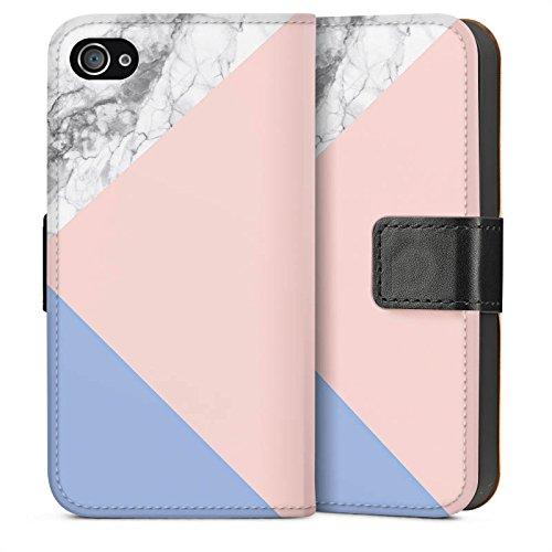 Apple iPhone 6s Plus Housse Outdoor Étui militaire Coque Pantone Pastel Marbre Sideflip Sac