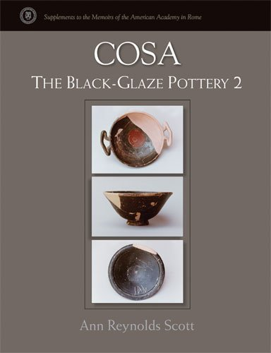 [(Cosa: 2 : The Black-Glaze Pottery)] [By (author) Ann Reynolds Scott] published on (March, 2008)