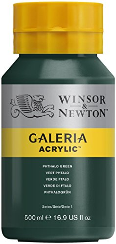 winsor-newton-series-1-500ml-bottle-galeria-acrylic-colour-with-nozzle-cap-phthalo-green