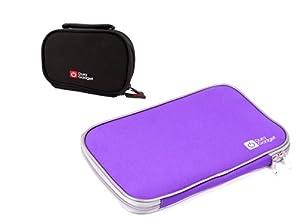 Schutzhüllen Set für Tischtennis - Schläger (violette Hülle) und Bälle...