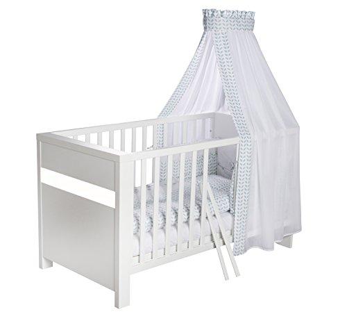 Schardt Kombi-Kinderbett 70x140 cm Planet White