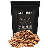 NUTICIOUS All Natural Jumbo Pecan Nuts-250 Ge (Gourmet Vegan Food Premium Quality)