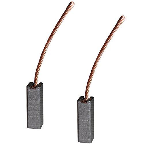 Kohlebürsten für verschiedene KFZ Motoren / 8 x 8 x 25 mm / Gebläse / Lüfter / Fensterheber / Scheibenwischer / Klima (Antrieb Gebläse-motor)