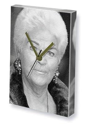 PAM ST.CLEMENT - Canvas Clock (A5 - Signed by the Artist) #js001 - cheap UK light store.