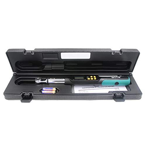 Hiod chiave dinamometrica digitale 1/2, 3/8, 1/4 inch drive 4 unità & 2 modalità, grado industriale alta precisione chiave dinamometrica,3/8-in-dr(1.5-30nm)