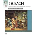Bach -- Selections from Anna Magdalena's Notebook: Book & CD (Alfred Masterwork Edition: CD Edition) (Paperback) - Common