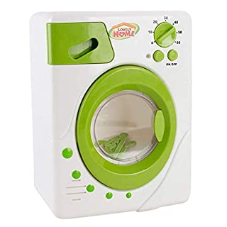 Gbell Mini Kitchen Home Appliances Kids Play Toy,Home Coffee Machine Electric Iron Microwave Oven Washing Machine Mixer Vacuum Cleaner Juicer Appliances Xmas Toy Gifts for Toddler Girls Boys 3+