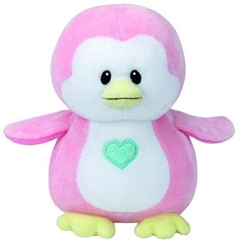 TY   Penny: Pingüino, 15 cm, color rosa (United Labels Ibérica 32156TY)