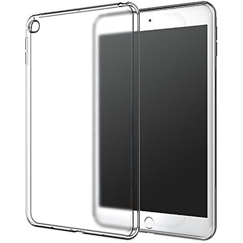 MoKo iPad Mini 4 Funda - Premium Material Suave TPU Transparente Flexible Trasera de Goma Esmerilada Parachoques Para Apple iPad Mini 4 7.9 Pulgadas 2015 Tableta,
