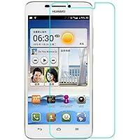 Funnytech_ - Cristal templado para Huawei Ascend G630. Protector de pantalla transparente para Huawei Ascend G630. Vidrio templado antigolpes (Grosor 0,3mm) – Kit de instalación incluido