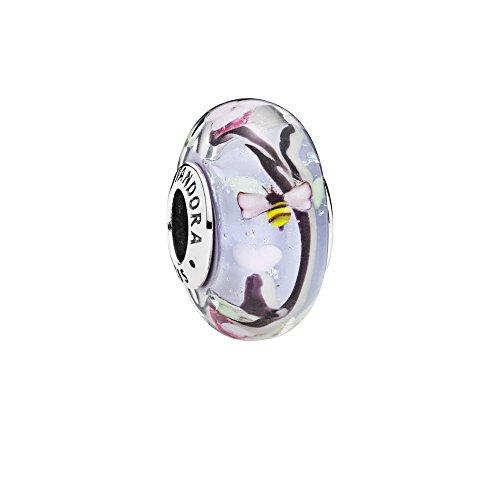 Schmuck Pandora Charms (Pandora Damen -Bead Charms 925 Sterlingsilber Glas 797014)