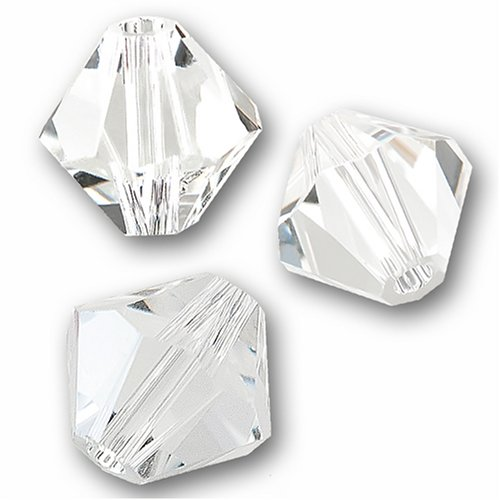 Swarovski 5301 Bicone (Swarovski Kristall Bicone 5301/5328 6mm Clear Perlen (20) 524003)