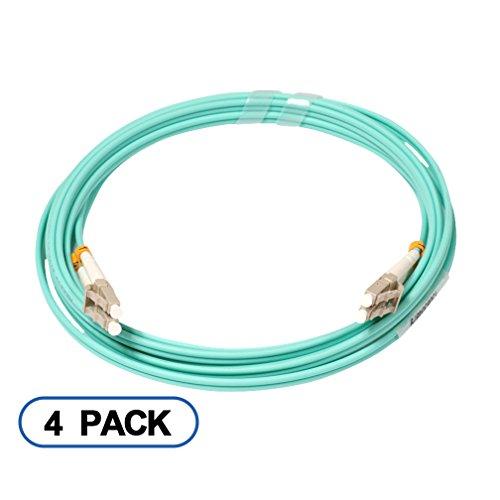 10Gtek OM3 Duplex, da LC a LC, Cable Patch fibra