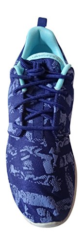 Nike Roshe Run Sneakers deep royal blue tide pool blue pure platinum 440