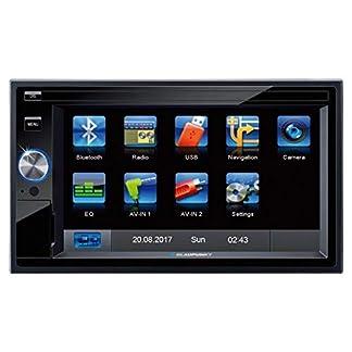 Blaupunkt-Santa-Cruz-370-Doppel-DIN-CDMP3-Autoradio-mit-TouchscreenBluetoothUSBSDiPod