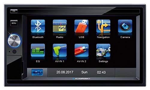 Blaupunkt Santa Cruz 370 EU Prof. - 2-DIN Navigation mit Touchscreen / Bluetooth / TMC / USB / 3D Fm-traffic-message-channel