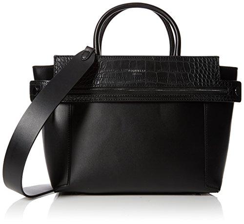 Fiorelli Damen Abbey Shopper, Schwarz (Black Croc Mix), 16.5x23x37 cm -