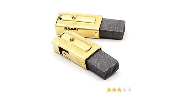 5x10x12,5mm 2.0x3.9x4.7 Balais de Charbon pour METABO BHE 75 Avec arr/êt automatique