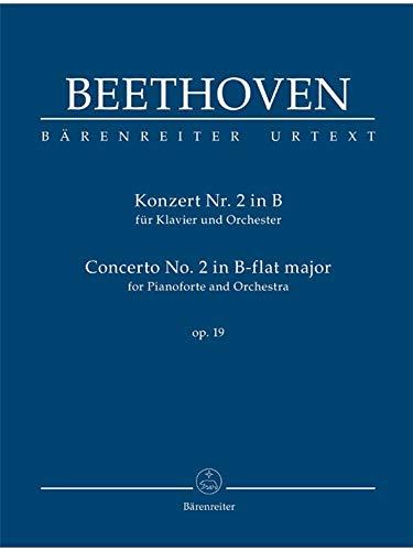 Konzert für Klavier und Orchester Nr. 2 B-Dur op. 19. Studienpartitur, Urtextausgabe