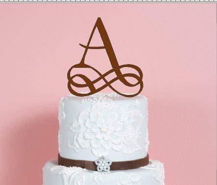 Fancy Letter A Hochzeitstorte Tortenaufsatz Buchstaben A B C D E F G H I J K L M N O P Q R S T U V W X Y Z