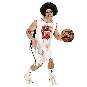 WIDMANN?Adultos Disfraz Zombie Jugador de Baloncesto