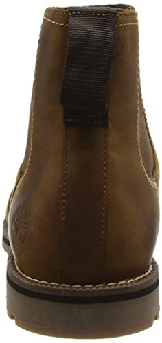 Timberland Larchmont_Larchmont_Larchmont Chelsea, Bottines à Doublure Froide Homme Marron - Braun (Oakwood FG with Suede)