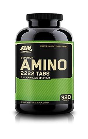 Optimum Nutrition Superior Amino 2222 Capsules, 325 Capsules