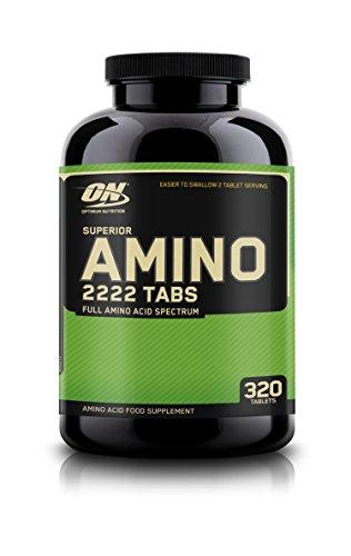 Optimum Nutrition SUPERIOR AMINO 2222, 320 Tabletten (Amino 2222 Tabletten)