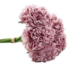 STRIR Peonías de seda artificial para ramo de novia para boda[Clase de eficiencia energética A++] (E)
