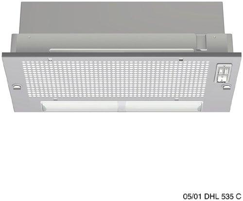 Bosch DHL535C - Campana (Metal, 530 mm, 280 mm, 235 mm, 40...