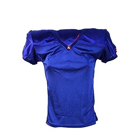 barnett FJ-2 maillot de football américain us match bleu royal M