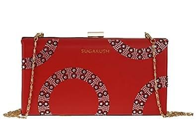 Sugarush Women's Sling Bag (Red) (SR/BERCH104/LYN2016)