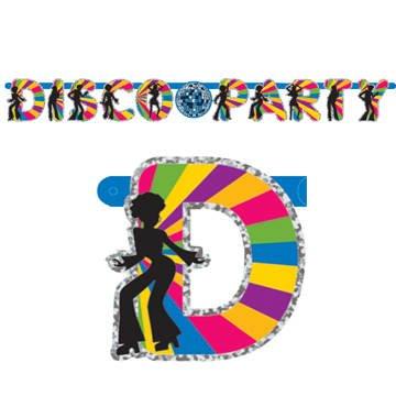Bunte-Banner-Disco-Party