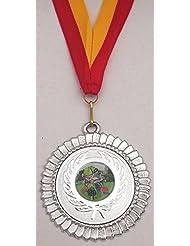 Juego de jardinería medalla con cinta (oro y plata y bronce), 2 set