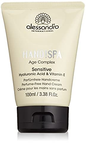 alessandro Hands Spa Age Complex Sensitive Handcreme, 1er Pack (1 x 100 ml)
