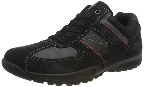 Dockers by Gerli Herren 36HT020 Sneaker, Schwarz (Schwarz/Grau 204120), 43 EU